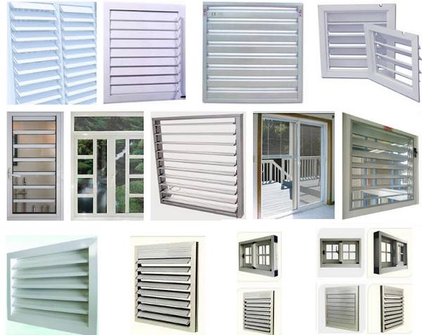 Các mẫu cửa thông gió an toàn hiệu quả không thể thiếu trong ngôi ...
