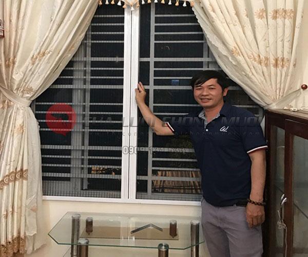 Cửa lưới chống muỗi không ray 05