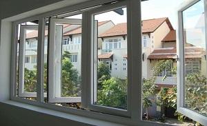 Cửa lưới chống muỗi mở là cửa lưới thích hợp với thiết kế ngôi nhà Việt