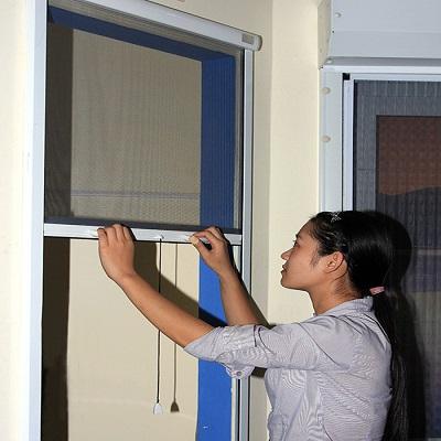 Cửa lưới chống muỗi Quận 3
