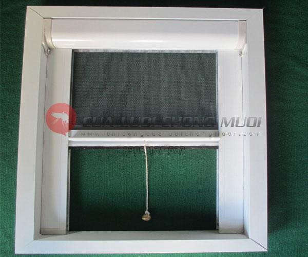 Cửa lưới chống muỗi tự cuốn CLCM002