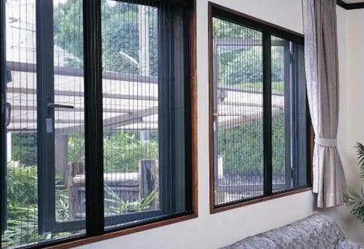 Cửa lưới chống muỗi tự cuốn mẫu cửa lưới phù hợp với mọi không gian sống