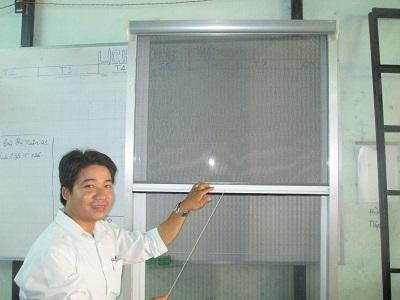 Cửa lưới chống muỗi xếp – Biện pháp chống muỗi không độc hại