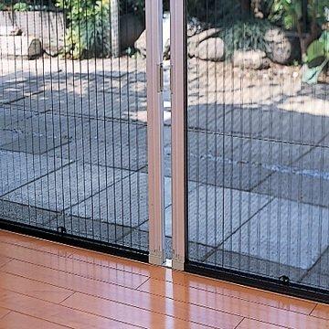 Cửa lưới chống muỗi xếp giá rẻ chống muối hiệu quả cho mọi nhà