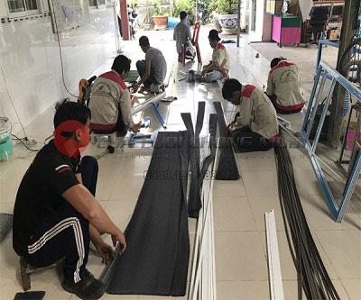 Làm cửa lưới chống muỗi Sài Gòn tại Quận 2