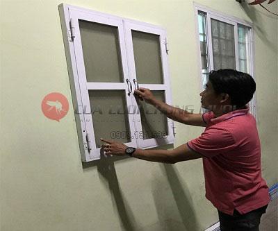 Làm cửa lưới chống muỗi tại Sài Gòn Quận 7