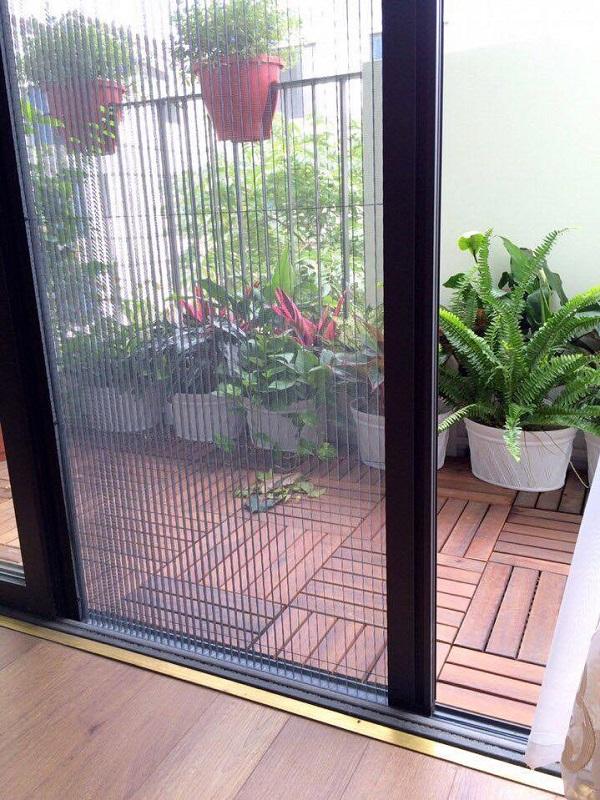Lắp đặt cửa lưới chống muỗi cho cửa ra vào