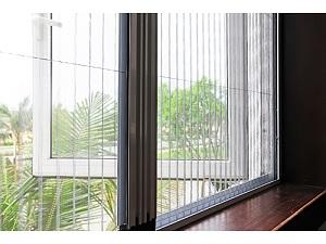 Lắp đặt cửa lưới chống muỗi giá rẻ cho phòng ngủ