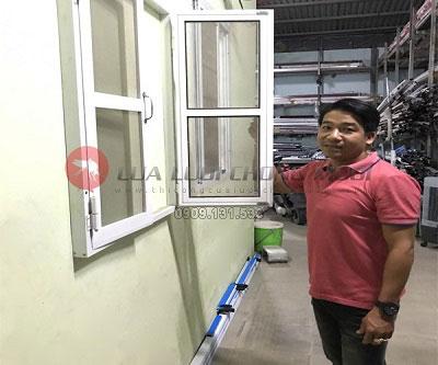 Thi công cửa lưới chống muỗi Vũng Tàu